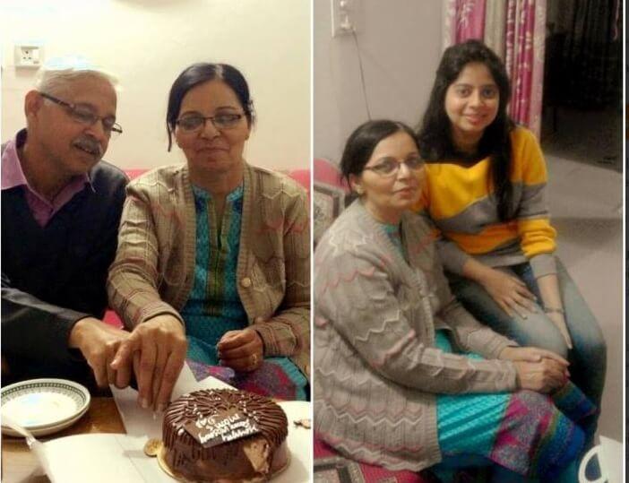 Mansi Srivastava Family