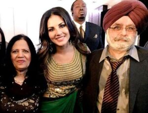sunny leone father & mother