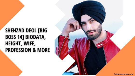 Shehzad Deol Biodata celebzbiography.com