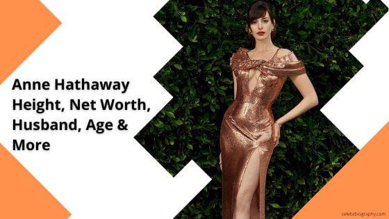 Anne Hathaway Height celebzbiography.com