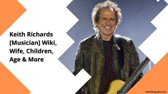 Keith Richards Wiki celebzbiography.com